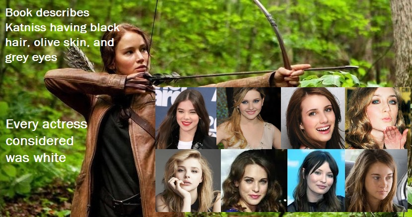 The Hunger Games (2008) Other actresses shown (L to R ...